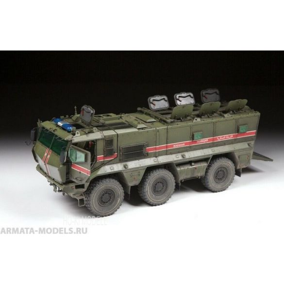 Zvezda 3701 Russian Armored Vehicle Kamaz-63968 TYPHOON-K