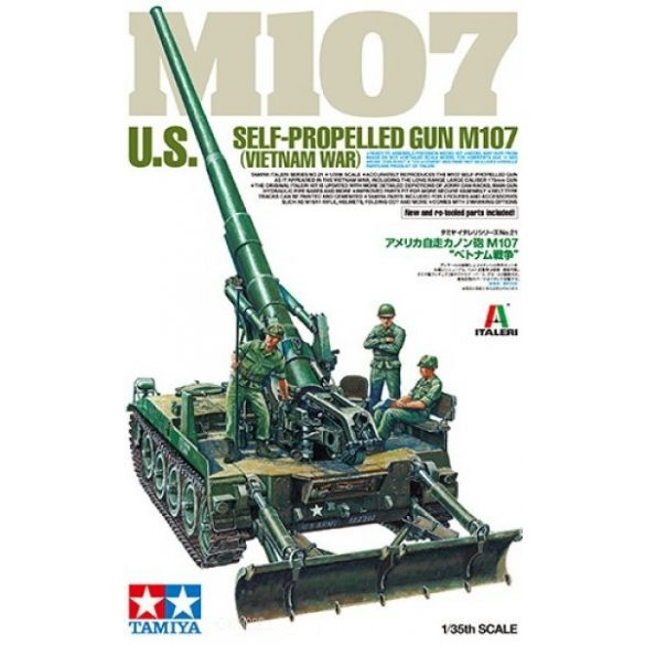 Tamiya 37021 US Self-Propelled Gun M107 Vietnam War