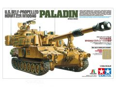Tamiya 37026 US Self Propelled Howitzer M109A6 Paladin Iraq