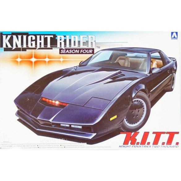 Aoshima 41307  Knight Rider K. I. T. T. Season Four