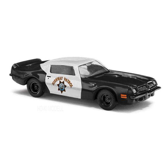 Busch 41712 Pontiac TransAm - Highway Patrol