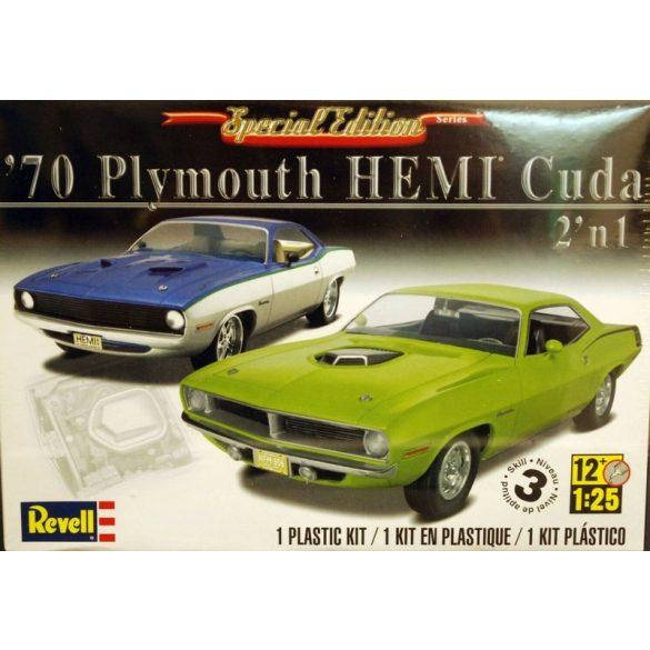 Revell 4268 1970 Plymouth Hemi Cuda 2'n1