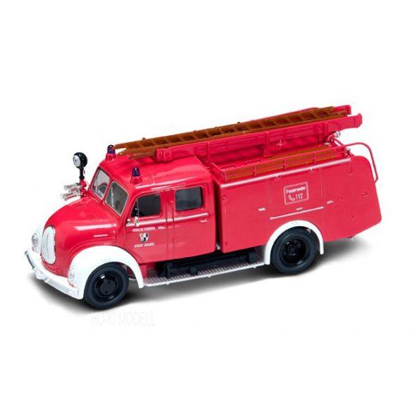 Lucky Diecast 43010 Magirus-Deutz Mercur TLF16 Tűzoltó - 1961