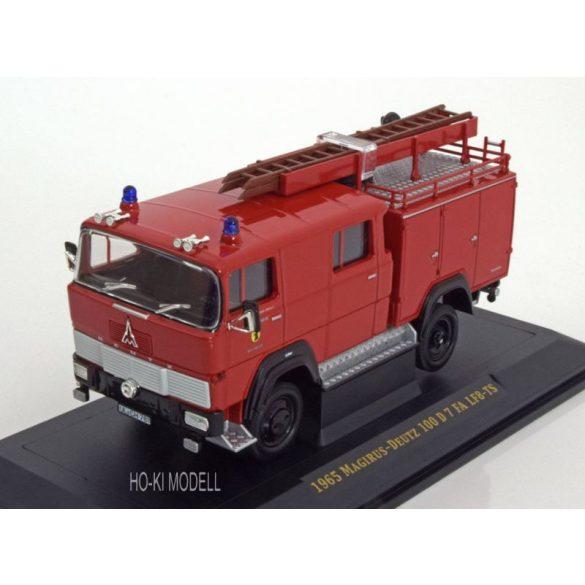Lucky Diecast 43017 Magirus Deutz 100 D 7 FA LF8-TS  Tűzoltó