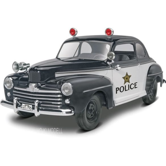 Revell 4318  '48 Ford Police Coupe 2 'n 1