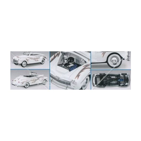 Revell 4443 1948 Ford Convertible Greased Lighting