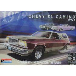 Monogram 4491 1978 Chevrolet El Camino 3'n1