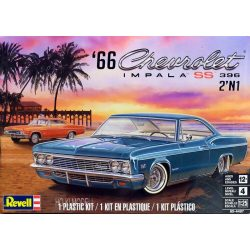 Revell 4497 1966 Chevrolet Impala SS 396 2'n1