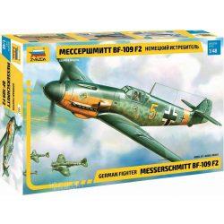 Zvezda 4802  Messerschmitt BF-109 F2 German Fighter