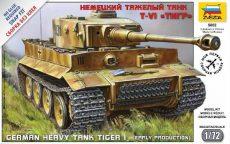 Zvezda German Heavy Tank Tiger I