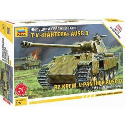 "Zvezda 5010 Sd.Kfz.171 Pz.Kpfw.V Ausf.D ""Panther"""