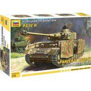 Zvezda 5017 German Medium Tank  Panzer IV Ausf.H