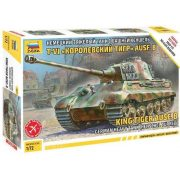 Zvezda 5023 King Tiger with Henschel Turret