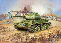 Zvezda 5039  T-34/85