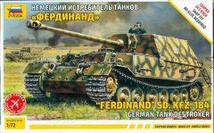 Zvezda 5041  Sd.Kfz. 184  Ferdinand German Tank Destroyer