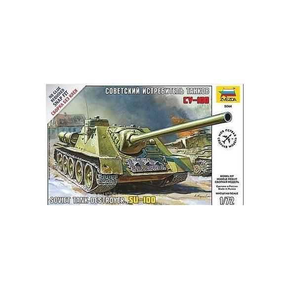 Zvezda 5044  Soviet Self-Proppeled Gun Su-100