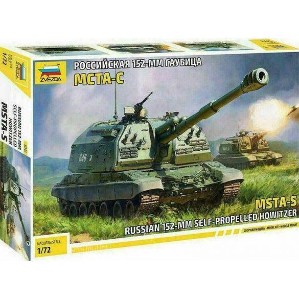 Zvezda 5045 Russian 152-MM Self-Propelled Howitzer MSTA-S