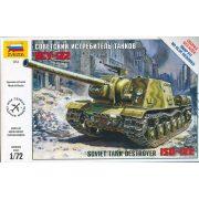 Zvezda 5054  ISU-122 Soviet Tank Destroyer