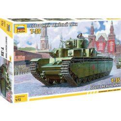 Zvezda 5061  T-35 Soviet Heavy Tank