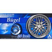 Aoshoma 53829  Leonhardiritt Bugel 20 Inch felni és gumi készlet
