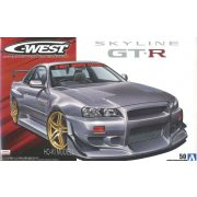 Aoshima 55427 C-West BNR34 Nissan Skyline GT-R' 02