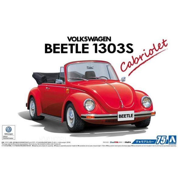 Aoshima 55724  Volkswagen Beetle Cabriolet 1303S