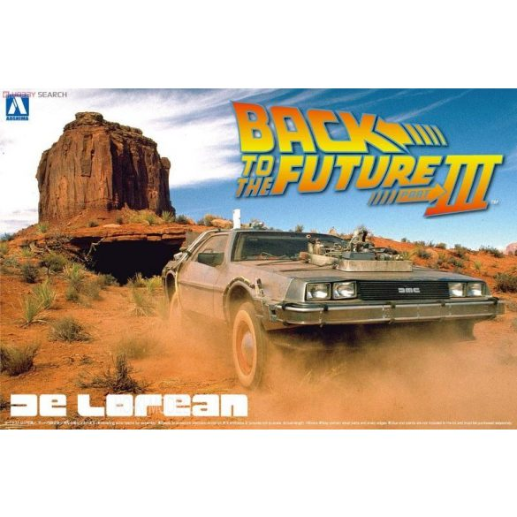 Aoshima 59180  De Lorean Back To The Future III.