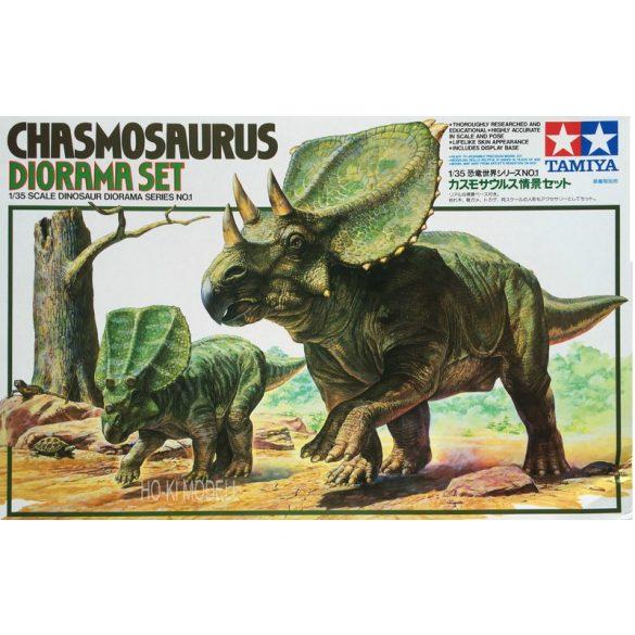 Tamiya 60101 Dinosaurs Chasmosaurus Diorama Assembly Set