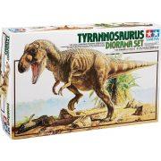 Tamiya 60102 Tyrannosaurus - Dinosaur Diorama Set