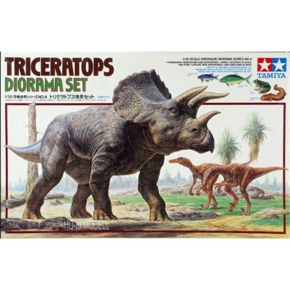 Tamiya 60104 Triceratops Diorama Set
