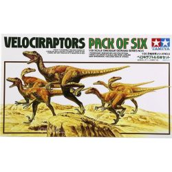 Tamiya 60105 Velociraptors - Dinosaur Diorama Set