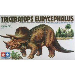 Tamiya 60201 Triceratops Eurycephalus - Dinosaur Diorama Set