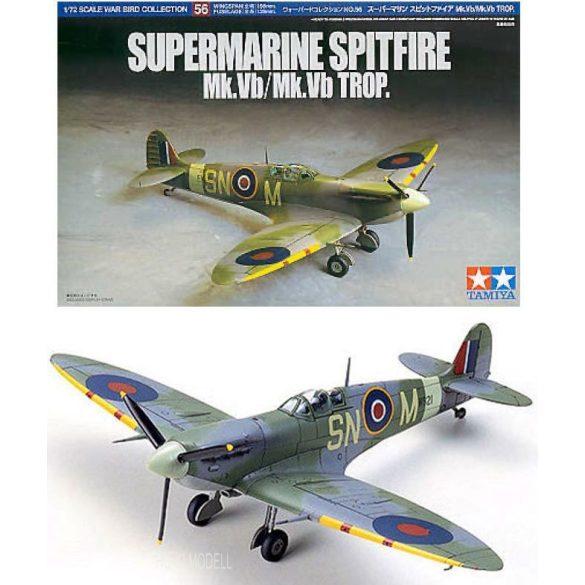 Tamiya 60756 Supermarine Spitfire Mk.Vb/Mk.Vb Trop.