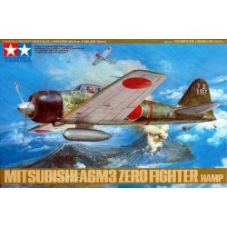 Tamiya 61025 Mitsubishi A6M3 Zero Fighter HAMP