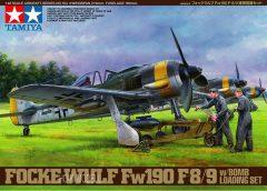 Tamiya 61104 Focke Wulf Fw190 F-8/9 w/Bomb Loading Set Kit