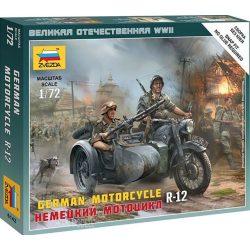 Zvezda 6142 German Motorcycle R-12