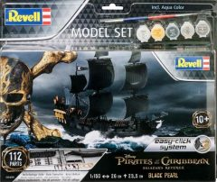 Revell 055499 Pirates of the Caribbean Salazar's Revence Black Pearl - Fekete Gyöngy