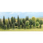 Busch 6589 Vegyes erdő, Fenyőfák és Lombos fák (30db)