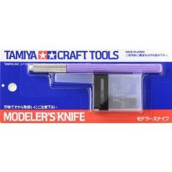 Tamiya 69918 modellező szike, cserélhető pengével+25 db. tartalék pengével