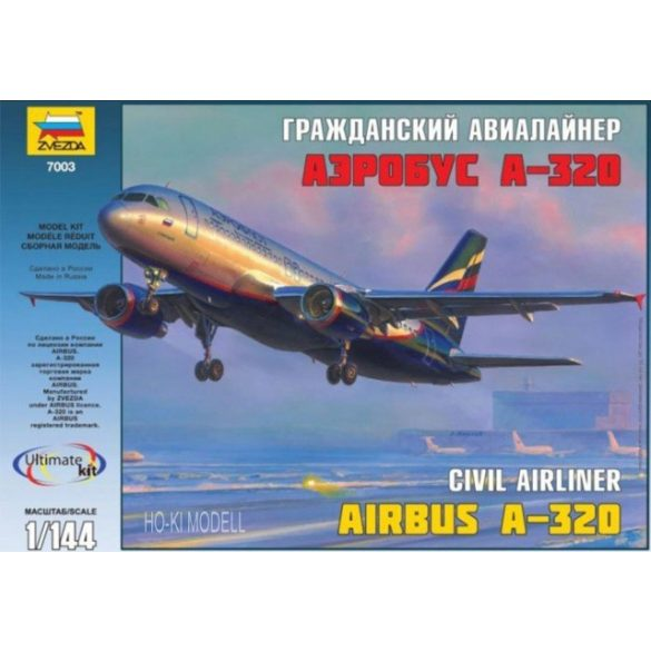 Zvezda 7003  Civil  Airliner Airbus A-320