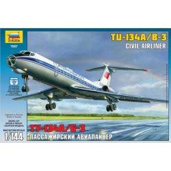 Zvezda 7007 Tupolev Tu 134 A/B-3