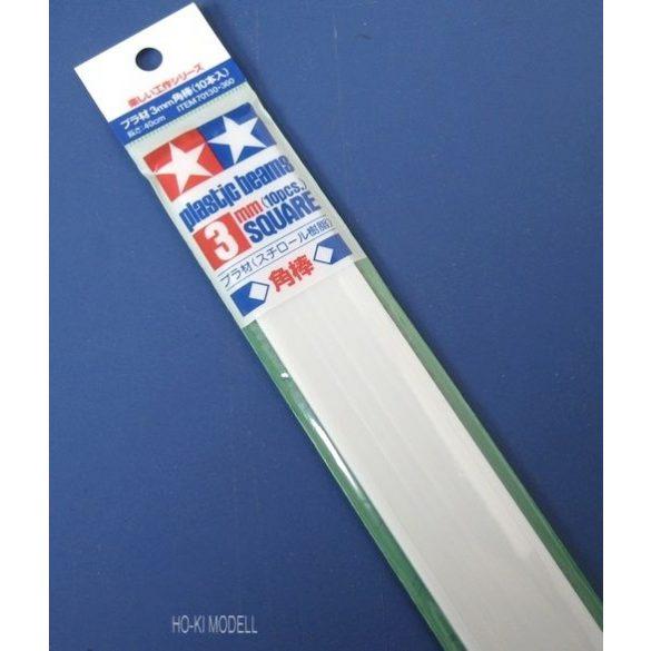 Tamiya 70130  Plastic Square Bar 3mm  (10pcs)