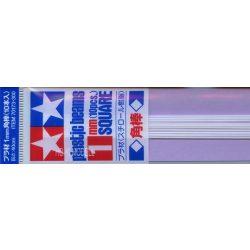Tamiya 70173  Plastic Square Bar 1mm (10pcs)