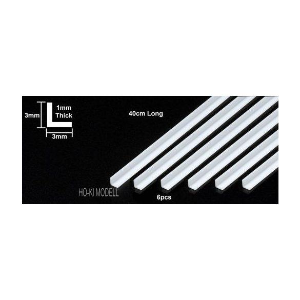 Tamiya 70199 Plastic Beams 3mm L Bar (6pcs)