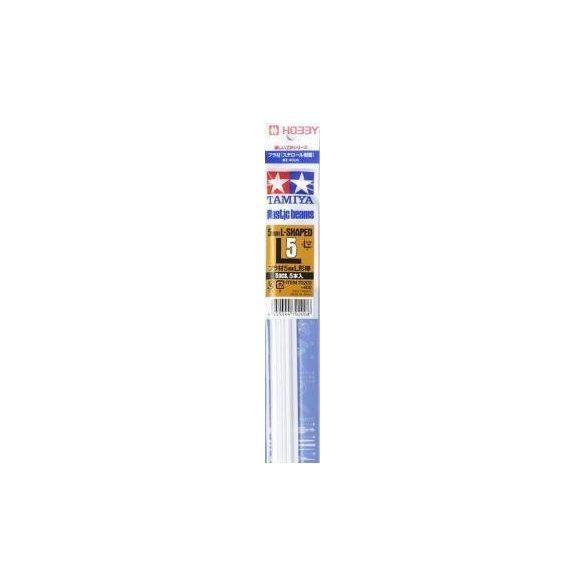 Tamiya 70200 Plastic Beams 5mm L Bar (5 pcs)