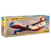 "Zvezda 7023 Civil Airliner TU-204-100 ""Red Wings"""