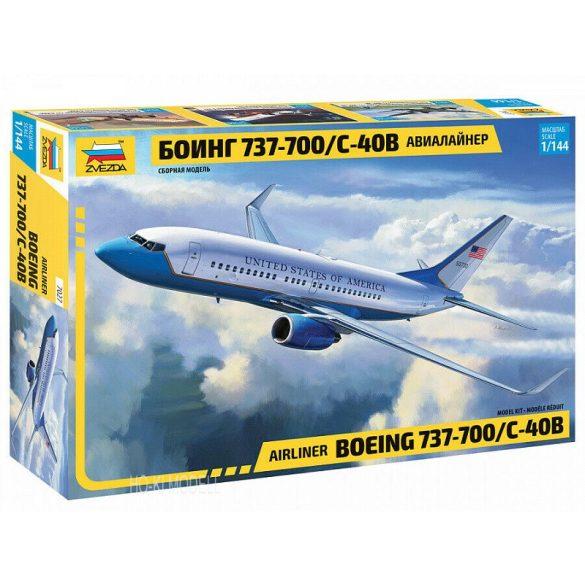 Zvezda 7027 Civil Airliner Boeing 737-700 / C-40B