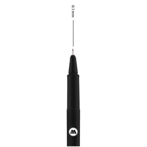 Molotow Blackliner - Fekete Panelvonal Kihúzó Toll 0,1mm