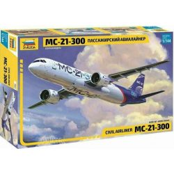 Zvezda 7033 Civil Airliner МС-21-300 Irkut Plane