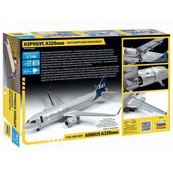 Zvezda 7037 Civil Airliner Airbus A320neo